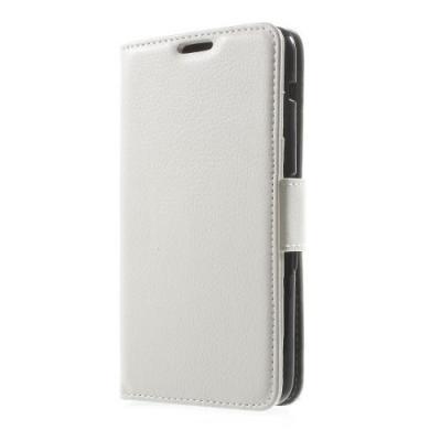 Litchi Plånboksfodral till Sony Xperia E4 - Vit