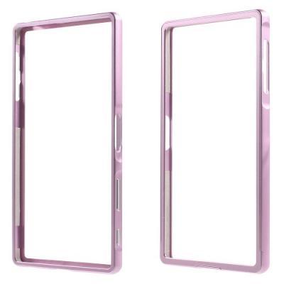 Metall Bumper till Sony Xperia Z5 Premium - Rosa