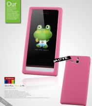 SeepooSeepoo Move Silikonskal till Sony Xperia U + Skärmskydd (Rosa)