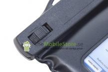 A-One BrandVattentät väska med armband till stora smarta mobiler (Svart)