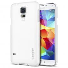 SpigenSPIGEN Ultra Fit Skal till Samsung Galaxy S5 (Vit) + Skärmskydd