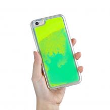 A-One BrandLiquid Neon Sand skal till iPhone 6/6s - Grön