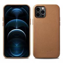 ICARERiCarer Äkta Läder Magsafe Skal iPhone 12 Mini - Brun