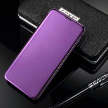 A-One BrandView Window Fodral för Samsung Galaxy S10e - Mörklila