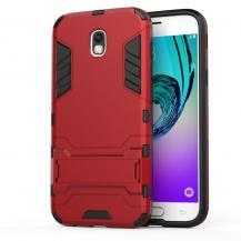OEMKick-Stand Mobilskal till Samsung Galaxy J5 (2017) - Röd