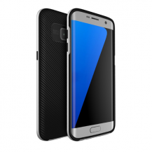 U.CaseU.Case Dual Layer Skal till Samsung Galaxy S7 Edge - Silver