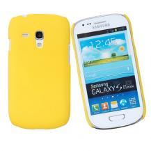 OEMBaksidesskal till Samsung Galaxy S3 mini i8190 (Gul)