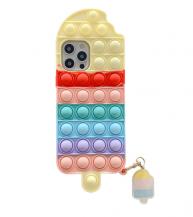 Fidget ToysIce Cream Pop it Fidget Skal till iPhone 11 - Röd