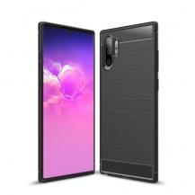 A-One BrandSkal i Kolfiber-design för Samsung Galaxy Note 10 Plus - Svart