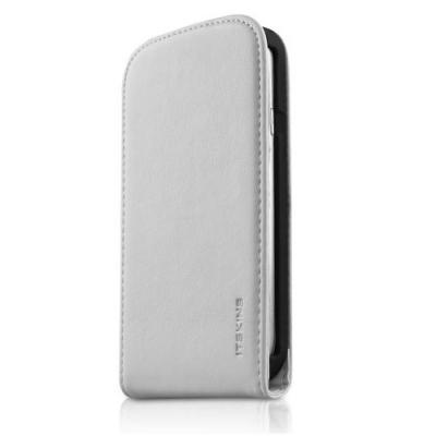 Itskins Milano Flap mobilväska till Samsung Galaxy S3 I9300 (Vit) +  Skärmskydd 54527c04b15e9