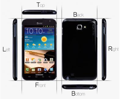 Ringke slim till Samsung Galaxy Note Rosa