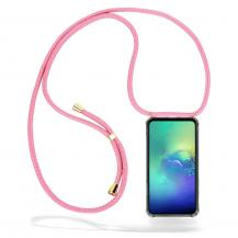 CoveredGear-NecklaceCoveredGear Necklace Case Samsung Galaxy S10e - Pink Cord