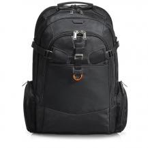 EverkiEverki Titan - Incheckningsvänlig laptop-ryggsäck, passar upp till 18,4