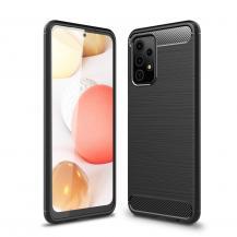 A-One BrandCarbon Fiber Mobilskal till Galaxy A52 5G - Svart