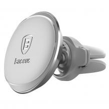 BASEUSBaseus magnetisk ventilation Bilhållare med Kabel clip Silver