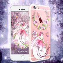 KavaroKavaro Tipsy Skal med Swarovski Stenar till iPhone 6(S) Plus - Pink Fairy