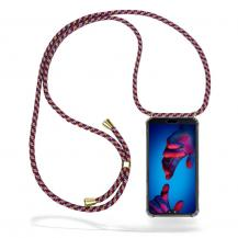 CoveredGear-NecklaceCoveredGear Necklace Case Huawei P20 - Red Camo Cord