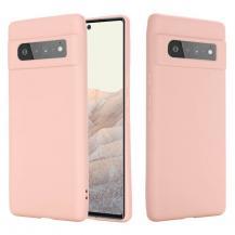 A-One BrandLiquid Silikon mobilskal till Google Pixel 6 Pro - Rosa