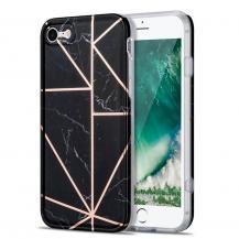 Boom of SwedenBoom of Sweden Grid skal till iPhone 7/8/SE - Svart Marmor