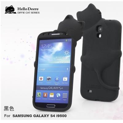 Hello Deere Silikonskal till Samsung Galaxy S4 i9500 (Svart)