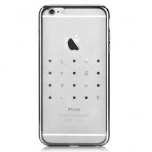 DeviaDevia Crystal Love till iPhone 6 / 6S - Silver