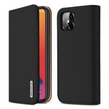 Dux DucisDUX DUCIS Äkta Läder Plånboksfodral iPhone 12 Pro Max - Svart