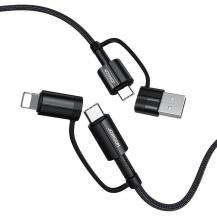 JoyroomJoyroom 4in1 USB Type C/USB - USB Type C/Lightning 3 A 60 W 1,8m