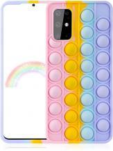 Fidget ToysPop it Fidget Skal till Samsung Galaxy S20 - MultiColor