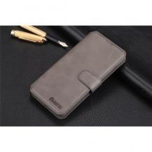 A-One BrandAZNS Plånboksfodral till Samsung Galaxy S10 - Grå
