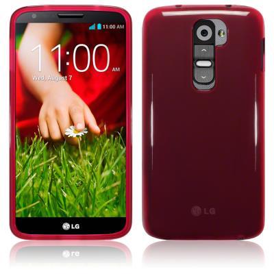 FlexiCase Skal till LG G2 (Röd)
