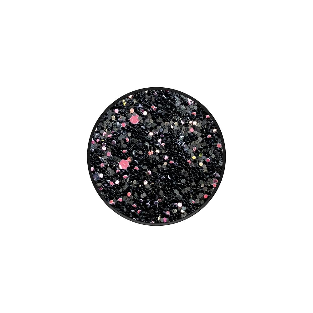 POPSOCKETS Sparkle Black Avtagbart Grip med Ställfunktion Premium