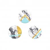 PopSocketsPOPSOCKETS White Marble Glam 3-pack