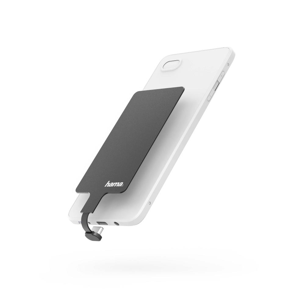 HamaQI Laddningsadaper för Mobiltelefon USB-C 800mA - Svart
