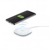 HamaHama Laddare QI 10W Vit Endast USB-kabel medföljer