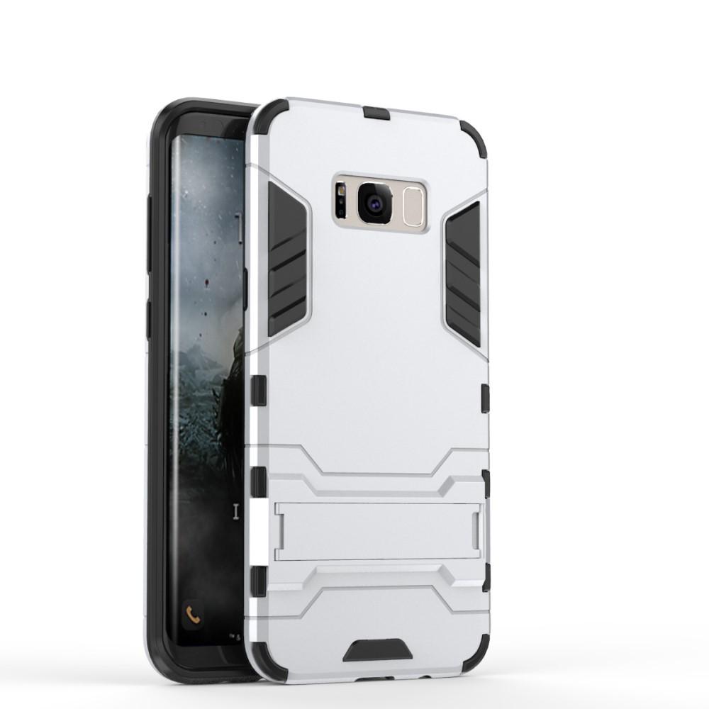 Hybrid Mobilskal till Samsung Galaxy S8 - Silver