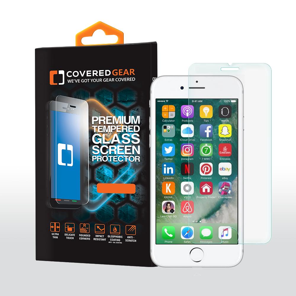 CoveredGear härdat glas skärmskydd till iPhone 6 6S 7 Plus ... 4bd49d64501ff