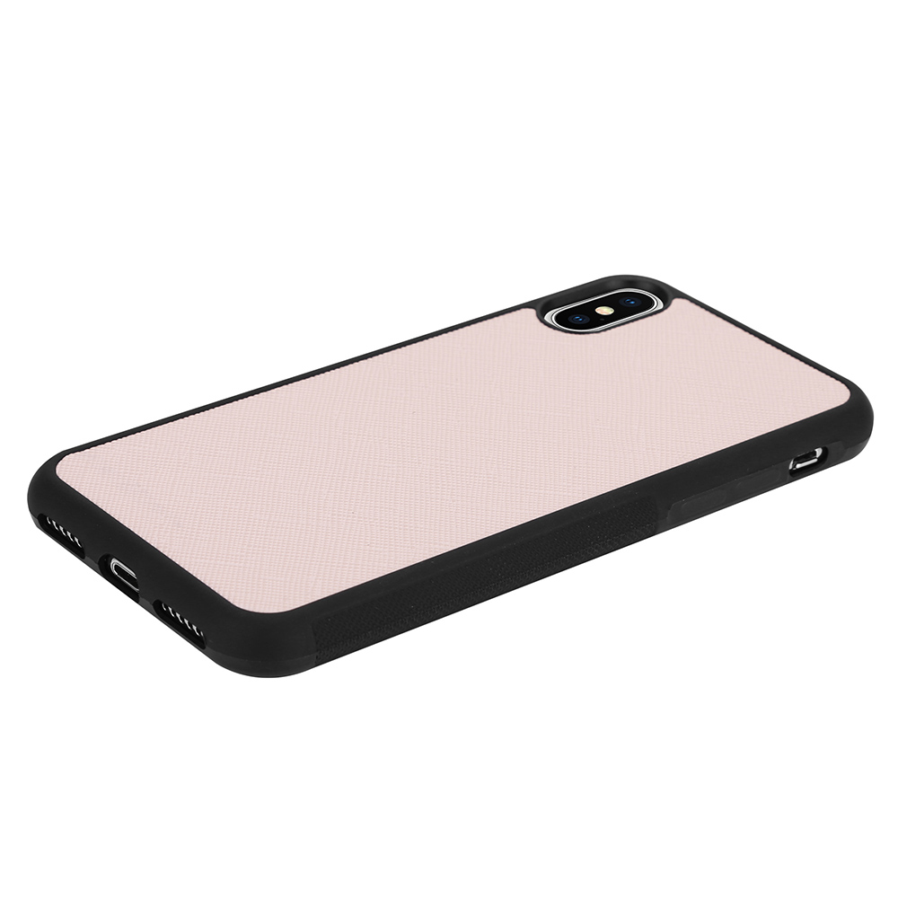 CoveredGear Saffiano skal till iPhone X - Rosa