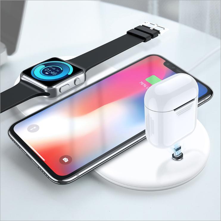 Floveme 3 i 1 laddare till Apple Produkter Vit