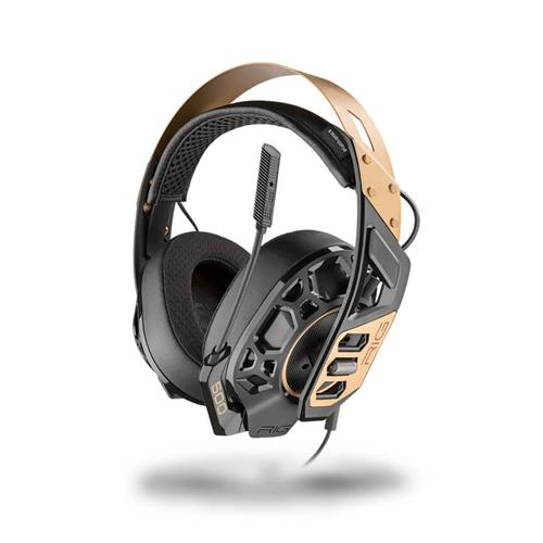 PLANTRONICS Gamingheadset PC/PS4/XBOX RIG 500 PRO Metal Headband - Gold