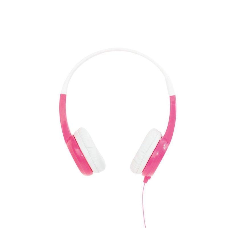 BuddyPhones Discover Kids headphone, rosa