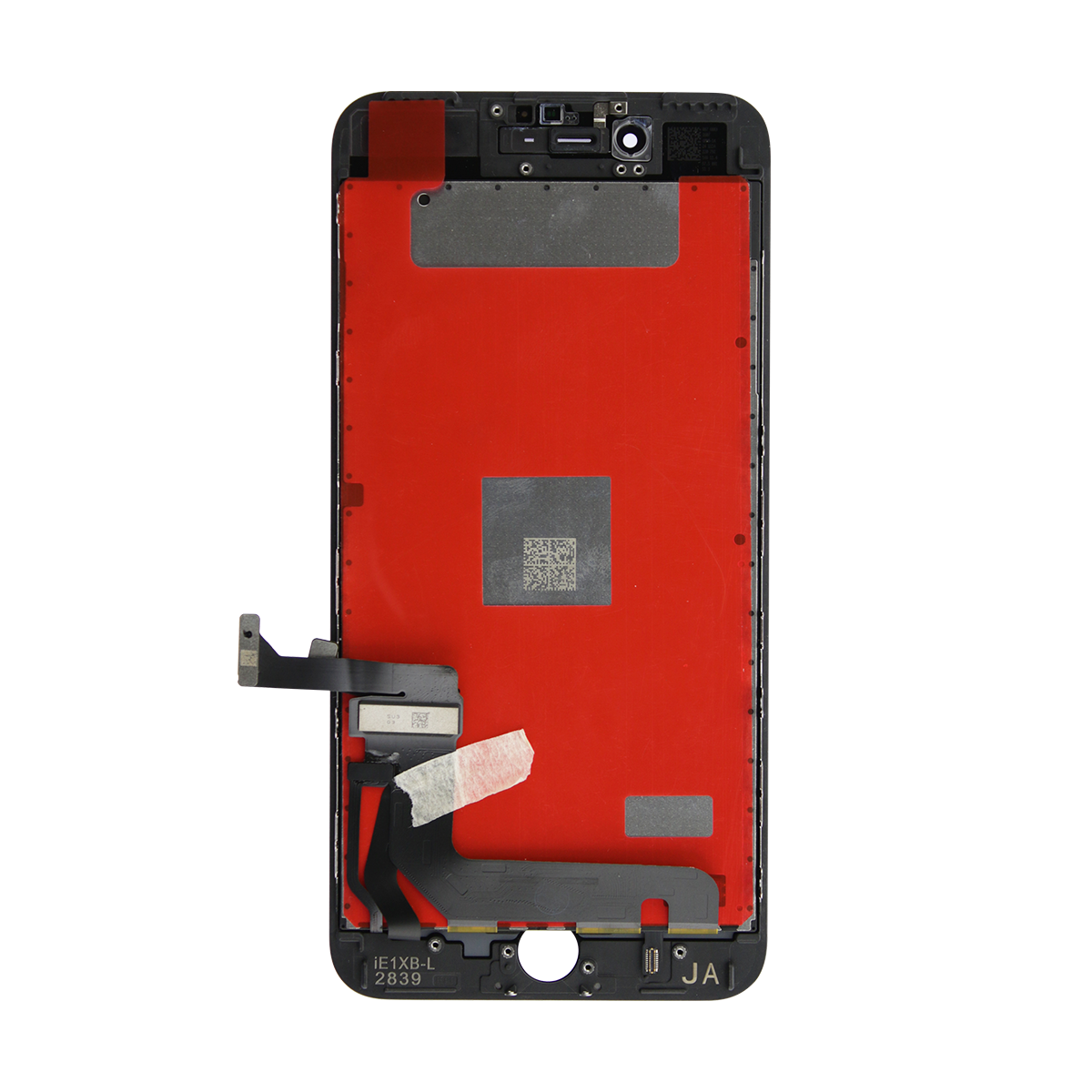 Original LCD Display med Glas till iPhone 7 Plus - Svart