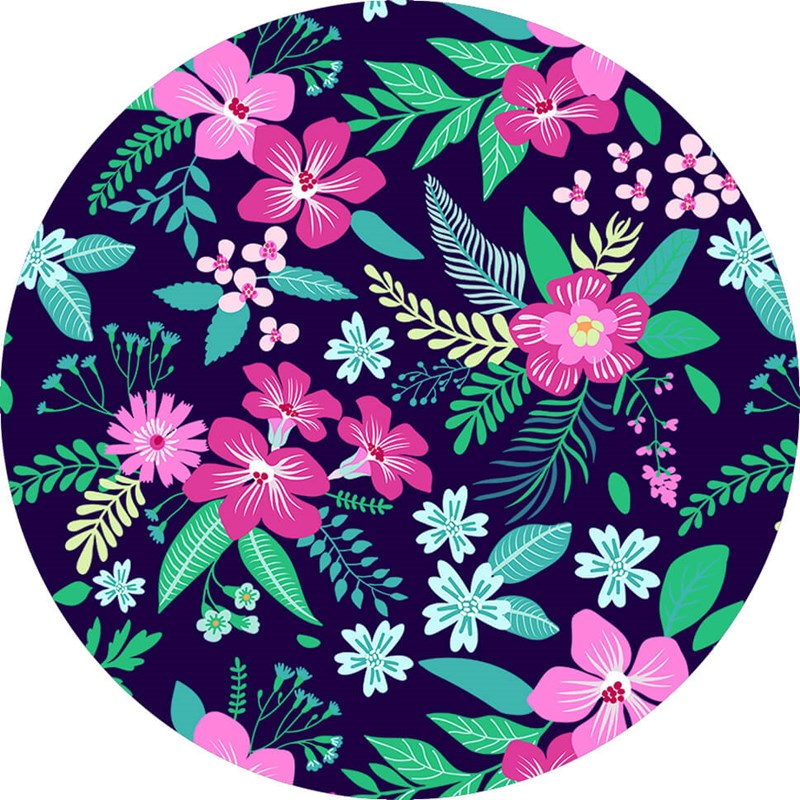 PopSockets Floral Chill  Grip med Ställfunktion