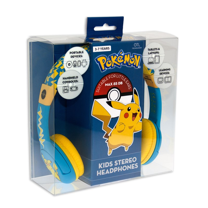 Pokemon Hörlur Junior On-Ear 85dB spärr
