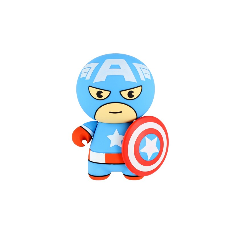 MARVEL Kawaii Powerbank Captain America 2600 mAh