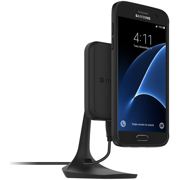 Mophie Charge Force Desk Mount - Svart