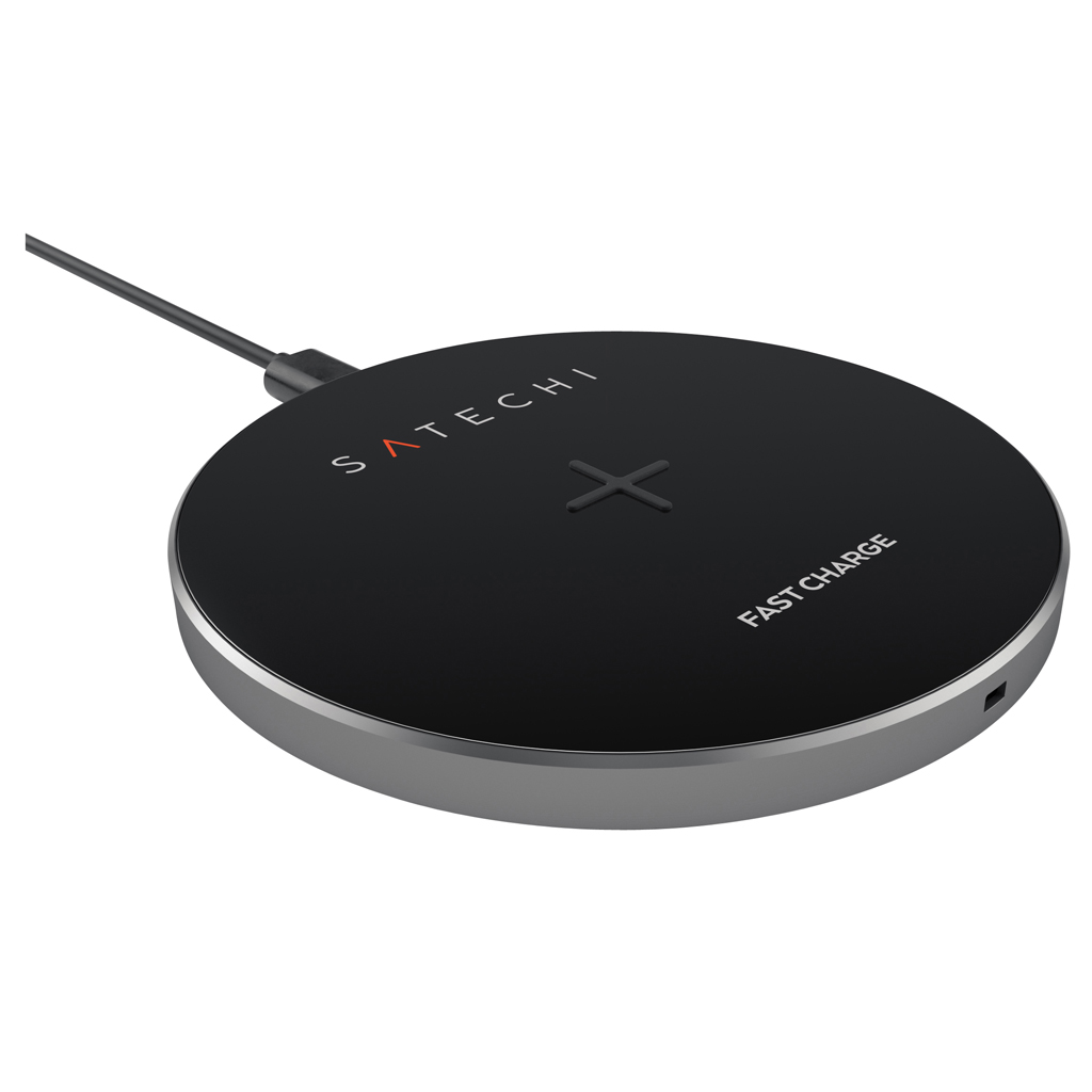 Satechi Wireless Charging Pad - Grå