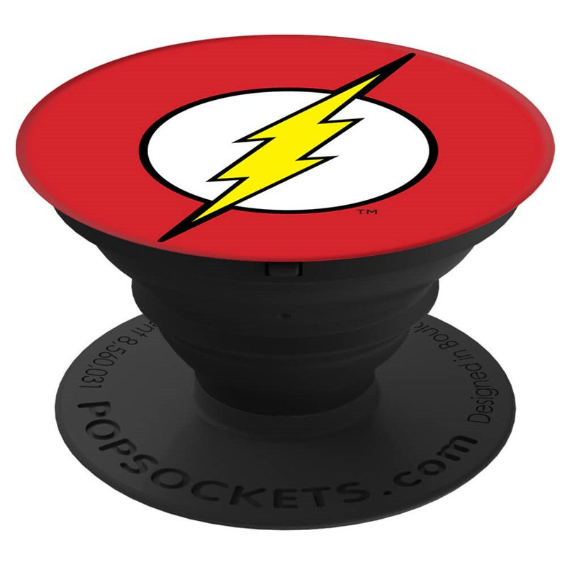 PopSockets Flash Icon Grip med Ställfunktion Premium DC Comics