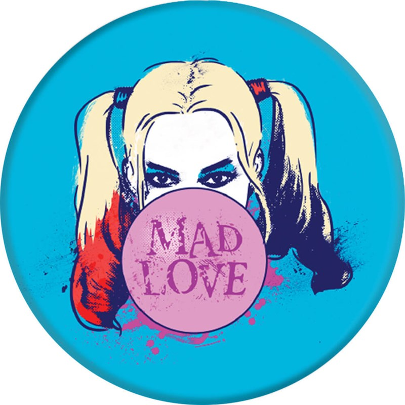 PopSockets Mad Love Grip med Ställfunktion Premium Suicide Squad