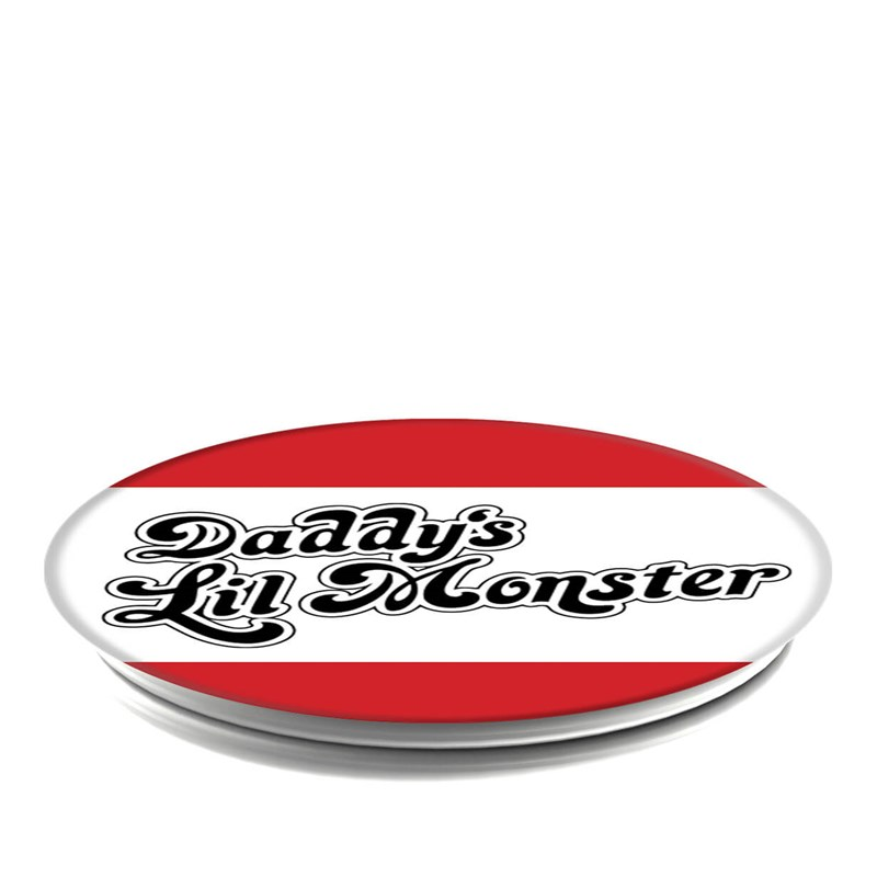 POPSOCKETS Daddy's Lil Monster Grip med Ställfunktion Premium Suicide Squad