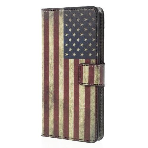 Plånboksfodral till ZTE Blade S6 - America